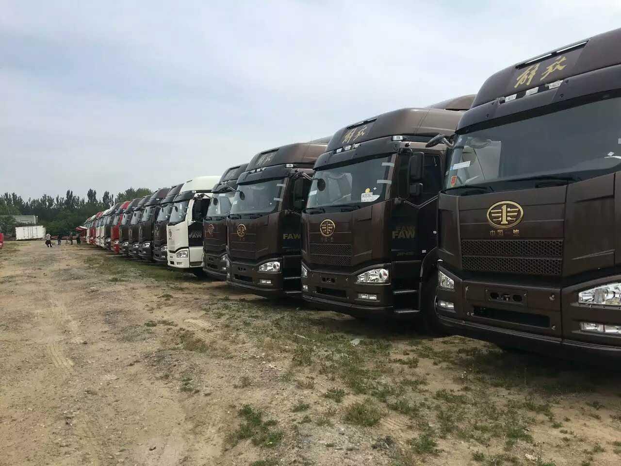 北京一汽解放J6P6X4460马力领航版牵引车销售专卖