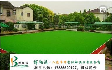 延安甘泉县双色尼龙门球场塑料草坪编织manbetx登陆