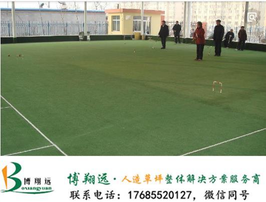 雅安天全县尼龙门球场塑料草坪的标准