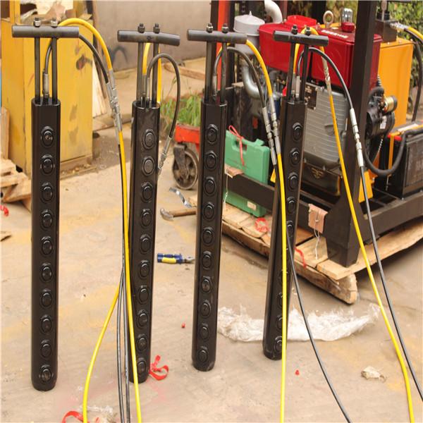山东劈裂棒开采机ZPL型通用型液压劈裂器