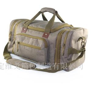 定做大容量短途旅游行李包 定做健身包印字