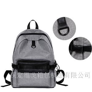 定做韩版学生背包 定做中学生书包印字