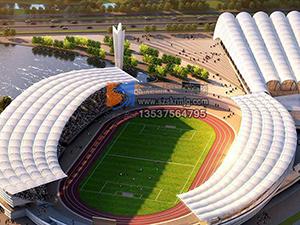 膜结构工程体育设施膜结构膜结构足球场张拉膜建筑斯柯瑞膜结构厂家