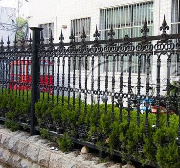 供青海大通铁艺栏杆和西宁铁艺栅栏报价