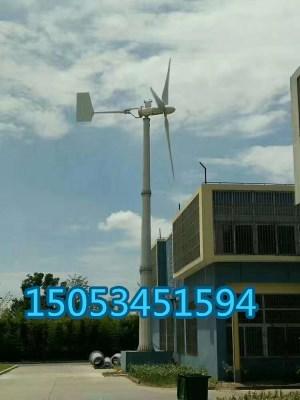 5000瓦水平轴风力发电机风力发电机家用220v5千瓦永磁低速