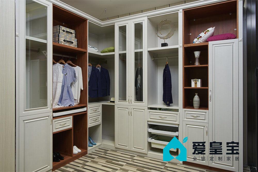 整体衣柜全铝家居全铝衣柜铝合金定制家居厂家直销