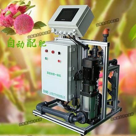 火龙果施肥机怎么安装福建果树水肥一体化自动施肥器配肥