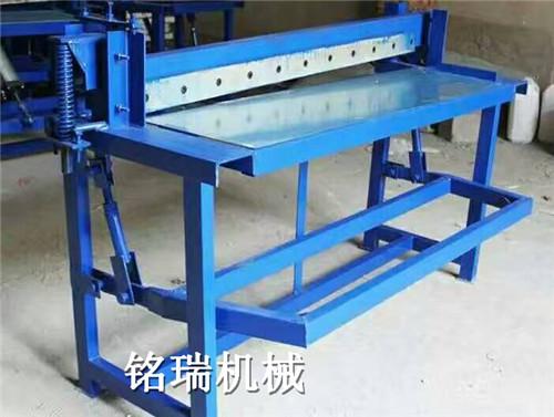 山东滨州市小型手动滚圆机设备铝皮保温卷圆机厂家