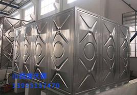 山西1*2米不锈钢焊接水箱