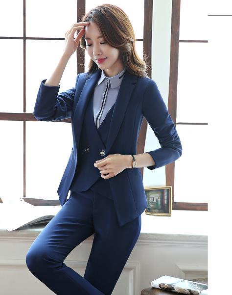 北京女士西服定做 职业西装套装定制厂家