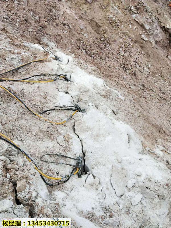 矿山开采替代放炮静态开采设备附近哪里买山西吕梁
