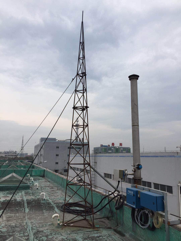 长泰县烟囱涂刷航标