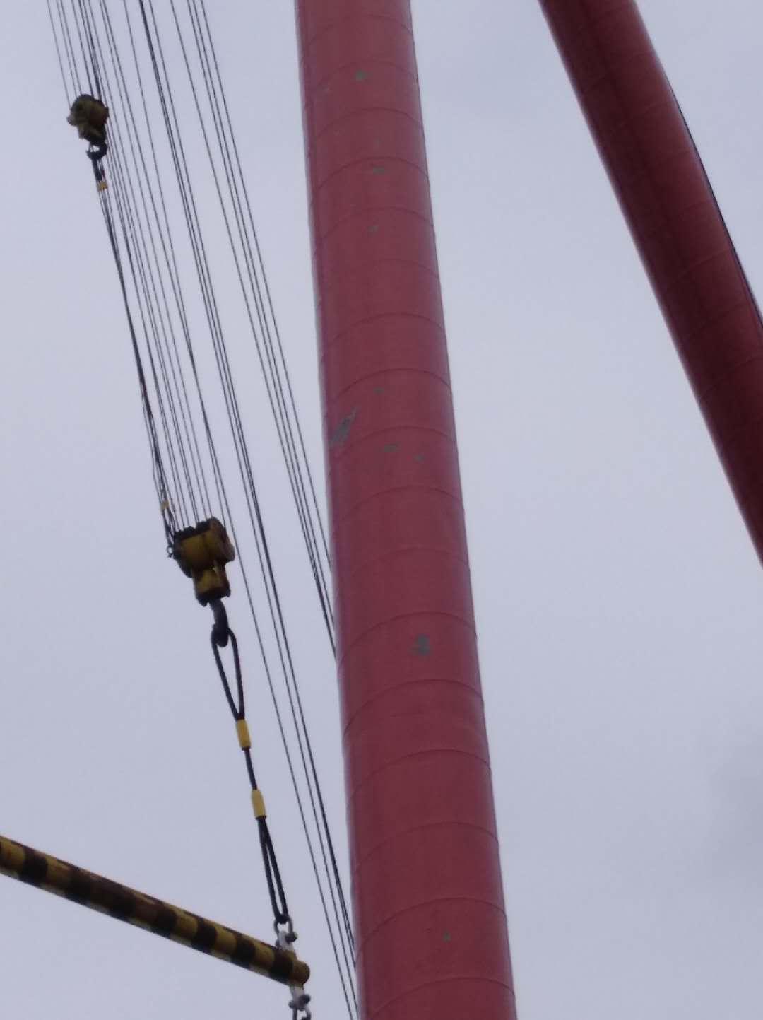 正镶白旗烟囱拆除加高施工