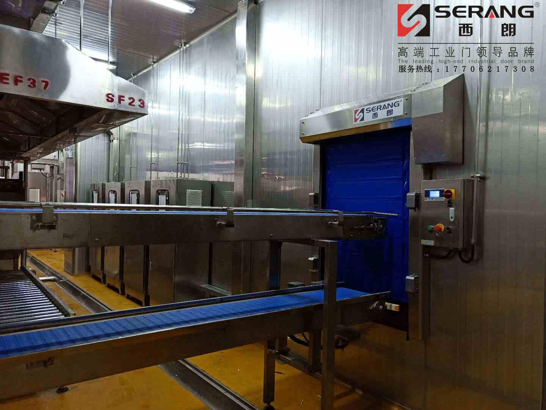 苏州食品车间不锈钢快速门专业制造商