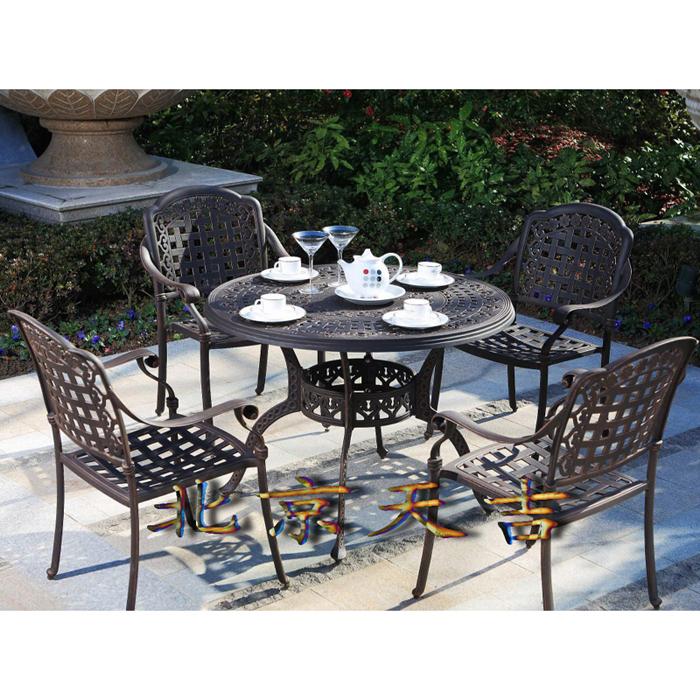 铸铝椅铸铝桌铸铝桌椅户外桌椅