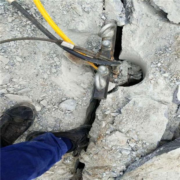 凉山州大理石破碎劈裂棒出售