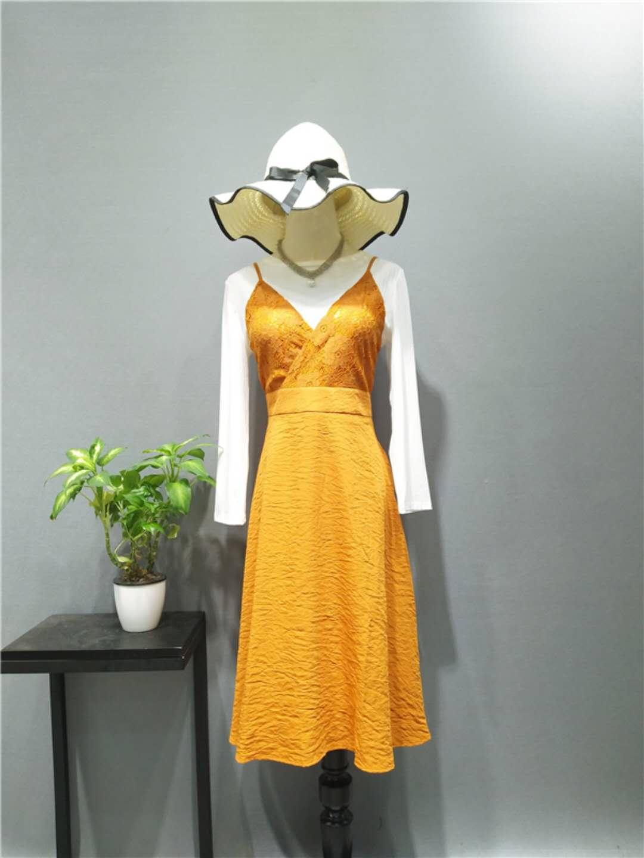 广州伊曼服饰品牌女装折扣批发欧若朵尔快时尚女装品牌尾货