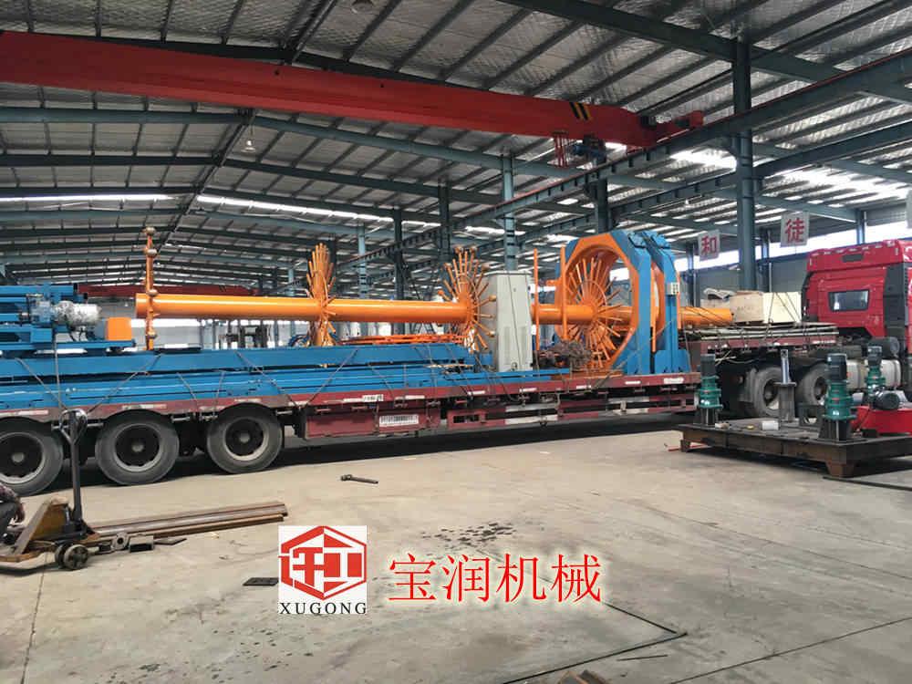 广东深圳钢筋笼盘绕机多少钱