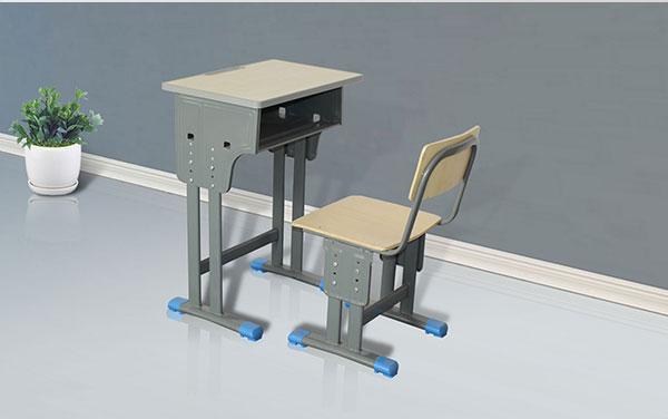 少秋教逝世单人位桌椅课桌椅定制选工场定制