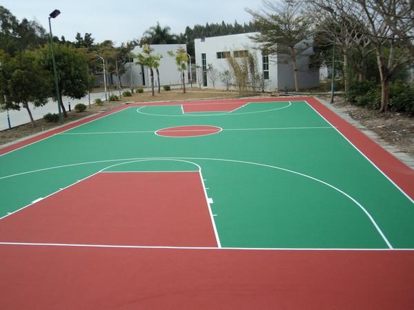 塑胶球场地胶铺装坚定不移的更加努力怀化湖南一线体育地坪材料