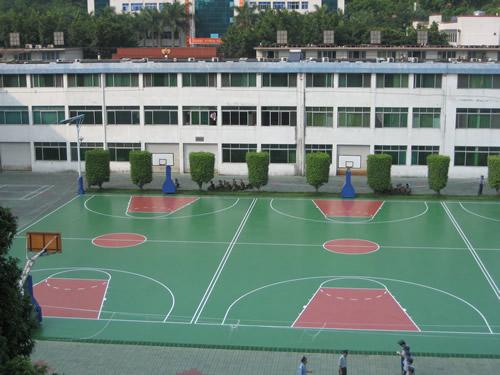 丙烯酸网球场施工高品质运动场地邵阳湖南一线体育