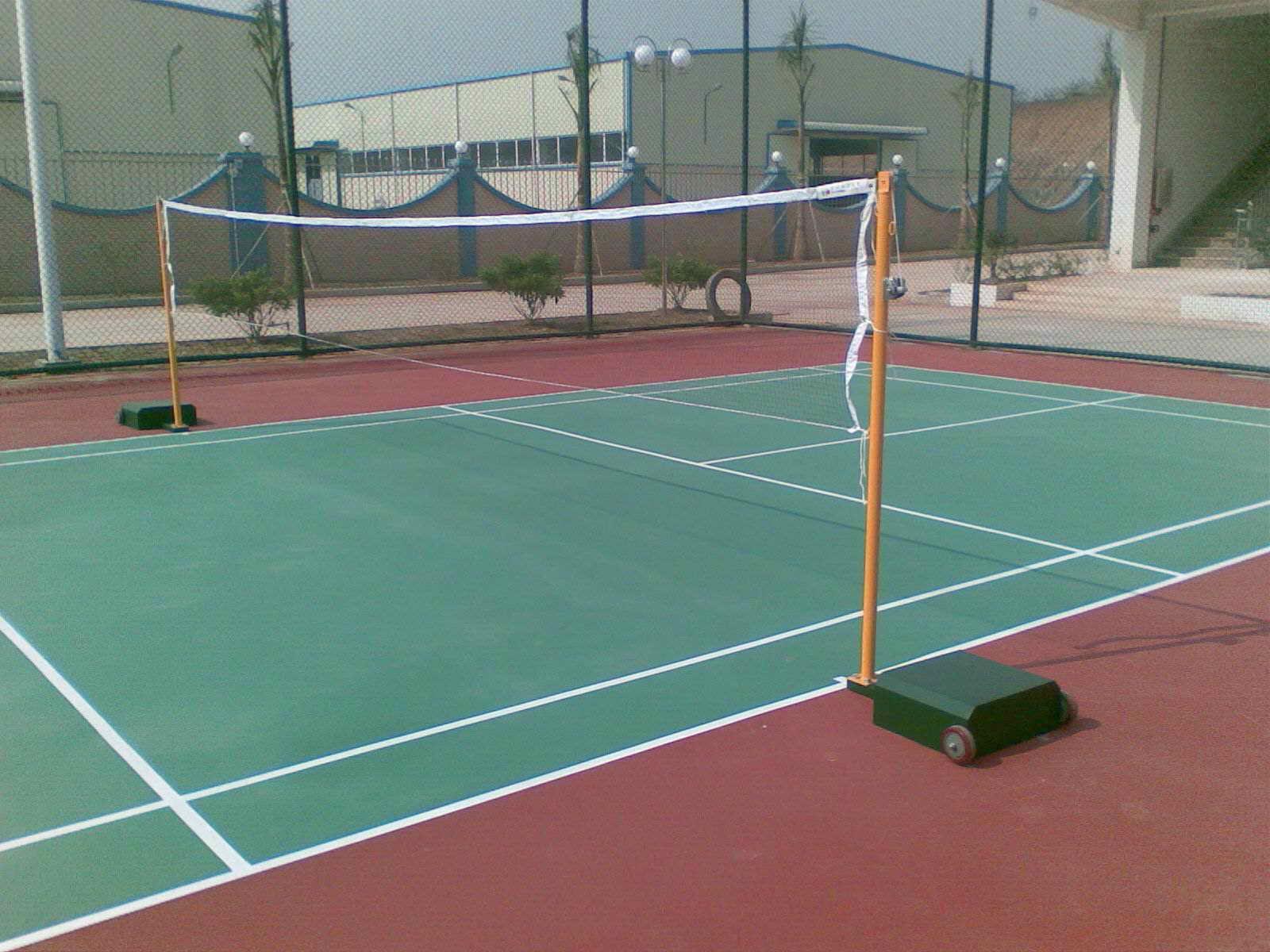 塑胶球场地胶铺装营造出的运动场地怀化湖南一线体育球场地面