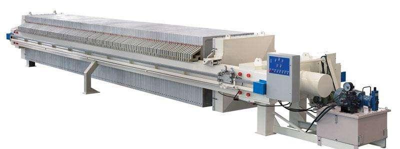 1500型暗流液压式压滤机
