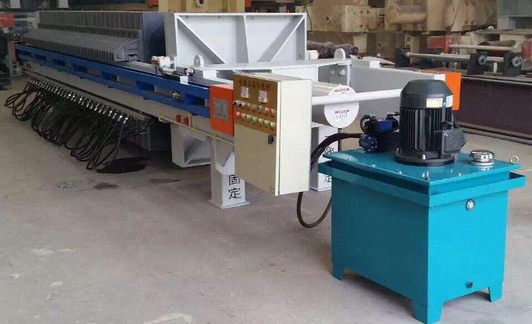 1250型明流机械式压滤机