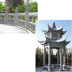 供西宁石护栏和青海石凉亭多少钱
