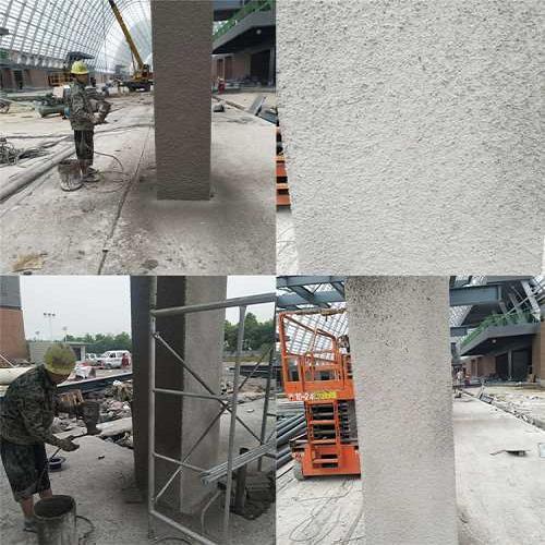 薄型钢结构防火涂料一平米用量是多少 厚型钢结构防火涂料生产厂家 河北军旺防火材料有限公司