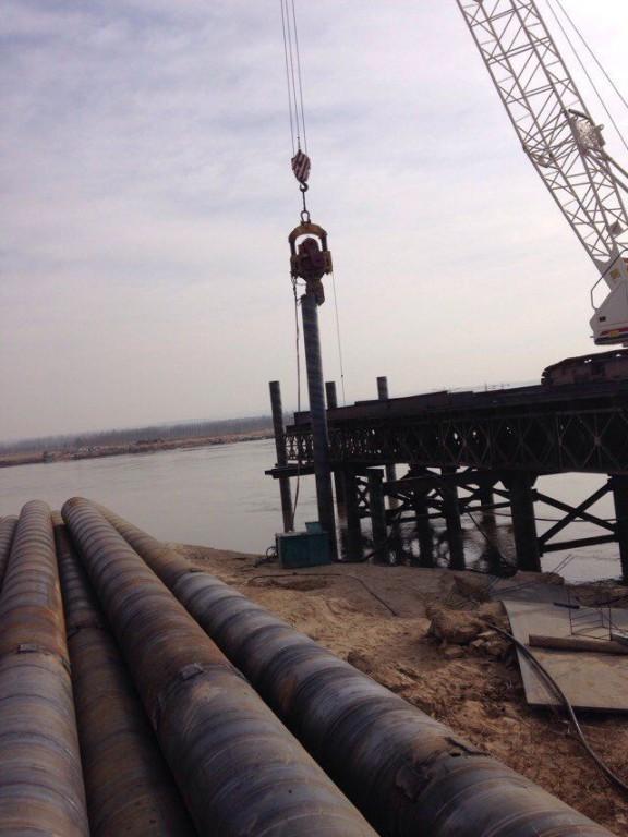 汉中钢板桩施工队、西安拉森钢板桩施工单位、汉中钢板桩围堰施工公司