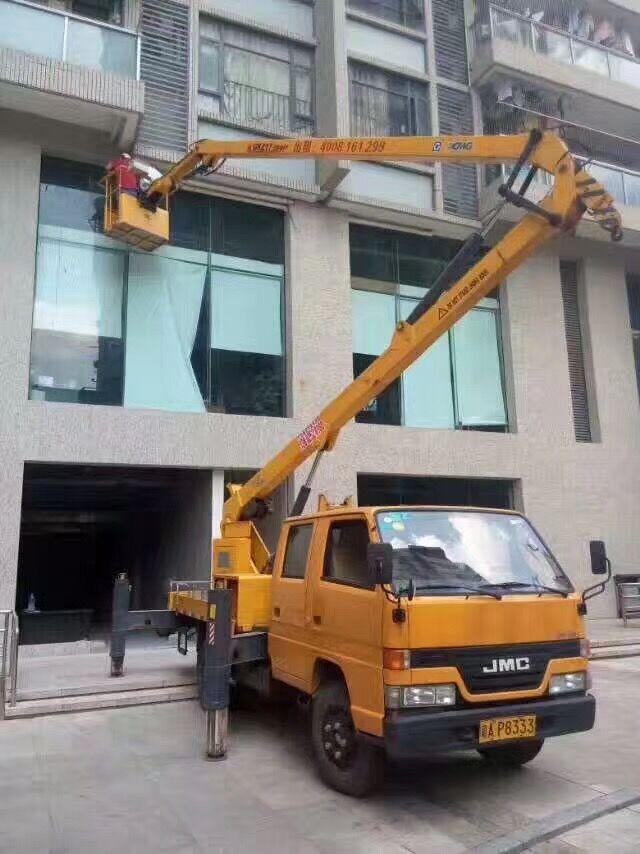 海珠砍树车修剪树枝车租赁,服务好、快捷效率高