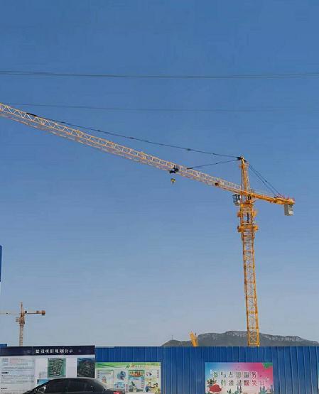 湖州臂长56m塔机型号QTZ5612建筑塔吊出QTZ80塔机手续
