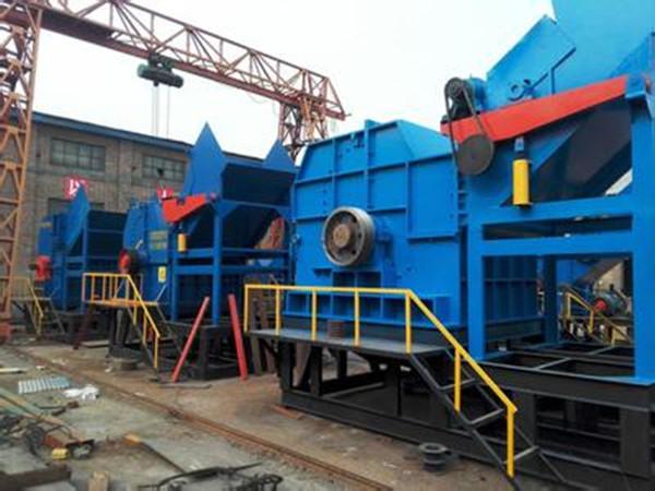 内蒙古乌兰察布市大型旧轮胎撕碎机江苏反击破碎机