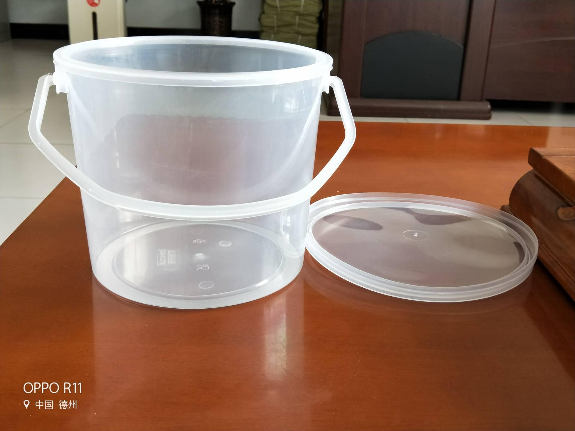 安徽5公斤食品级塑料桶5升豆腐乳芝麻酱塑料桶生产厂家