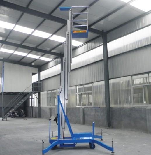 广西南宁6米双柱铝合金升降平台生产厂家