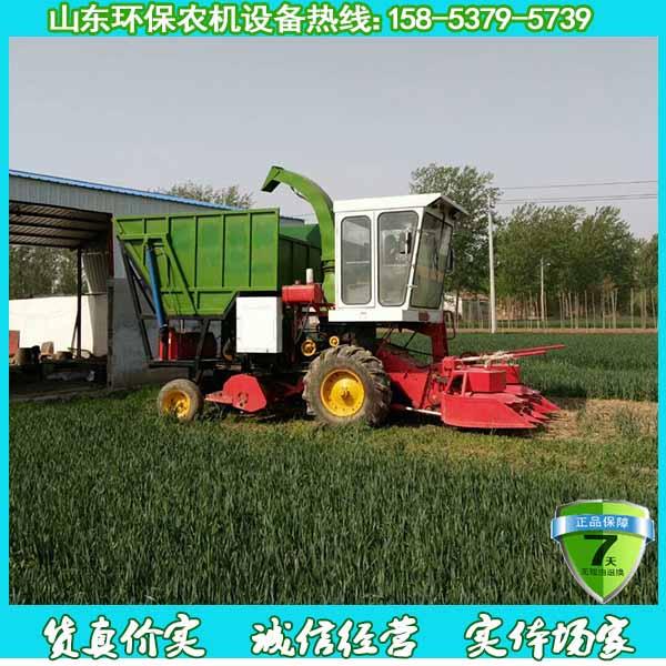 简述自走式青储机的优点 助力养殖业发展