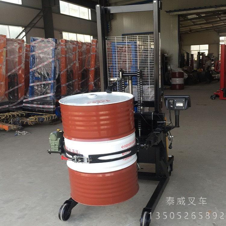 苏州手推式油桶搬运车厂家
