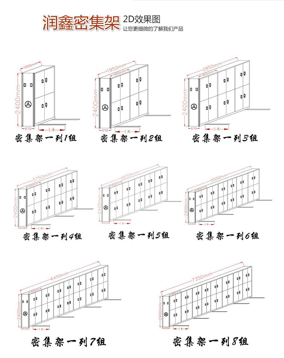 惠民密集柜平面圖