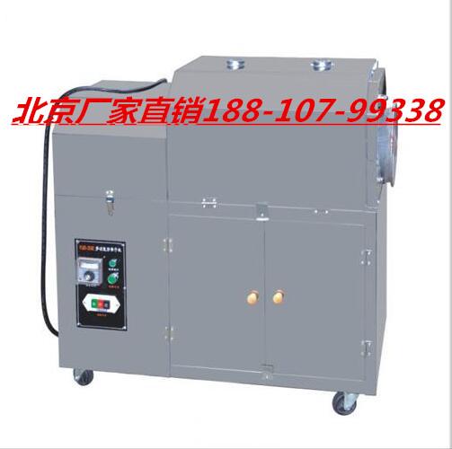 滚筒电加热炒面粉机-山西电热炒荞麦的机器-炒100斤瓜子的炒货机