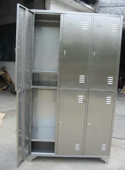 manbetx登陆定做不锈钢储物柜,鞋柜,碗柜茶水柜定做各类不锈钢制品