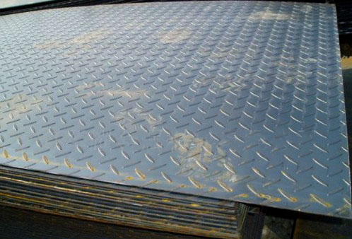 杭州斑纹钢板3mm镀锌斑纹板几钱