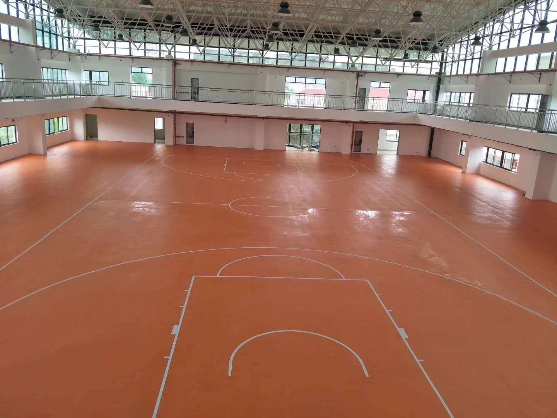 新疆标准乒乓球PVC地胶专用塑胶地板