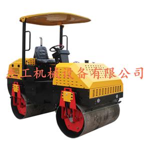 600型双钢轮压路机 无级变速手扶式压路机