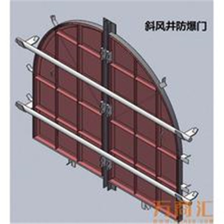 MFBX-2.5*2.65煤矿用斜井防bao门厂家价格低