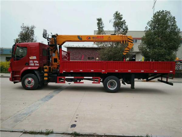 郑州16吨前四后八随车吊可分期按揭