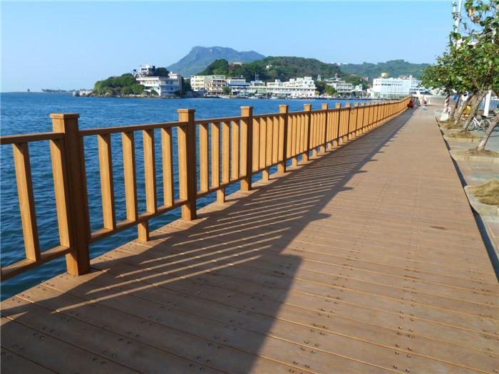 高分子PS仿木浮桥地板、浮筒铺板