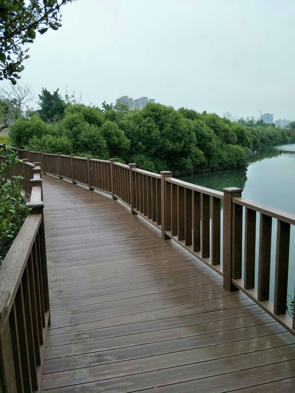 高分子PS仿木水上浮桥地板、船甲木地板