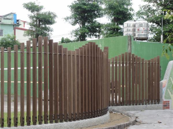 高分子PS仿木纹天花吊顶墙隔栅隔断