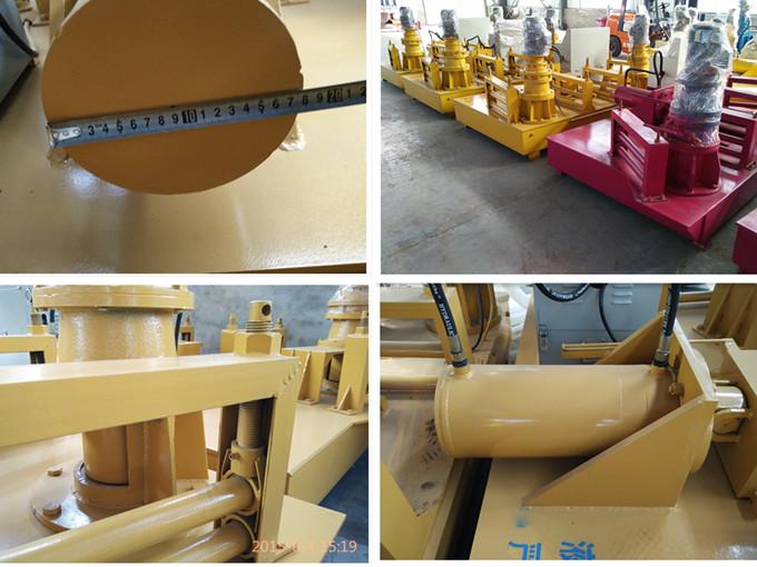 湖北黑龙江地铁支护工字钢冷弯机414X405H型钢钢材加工机